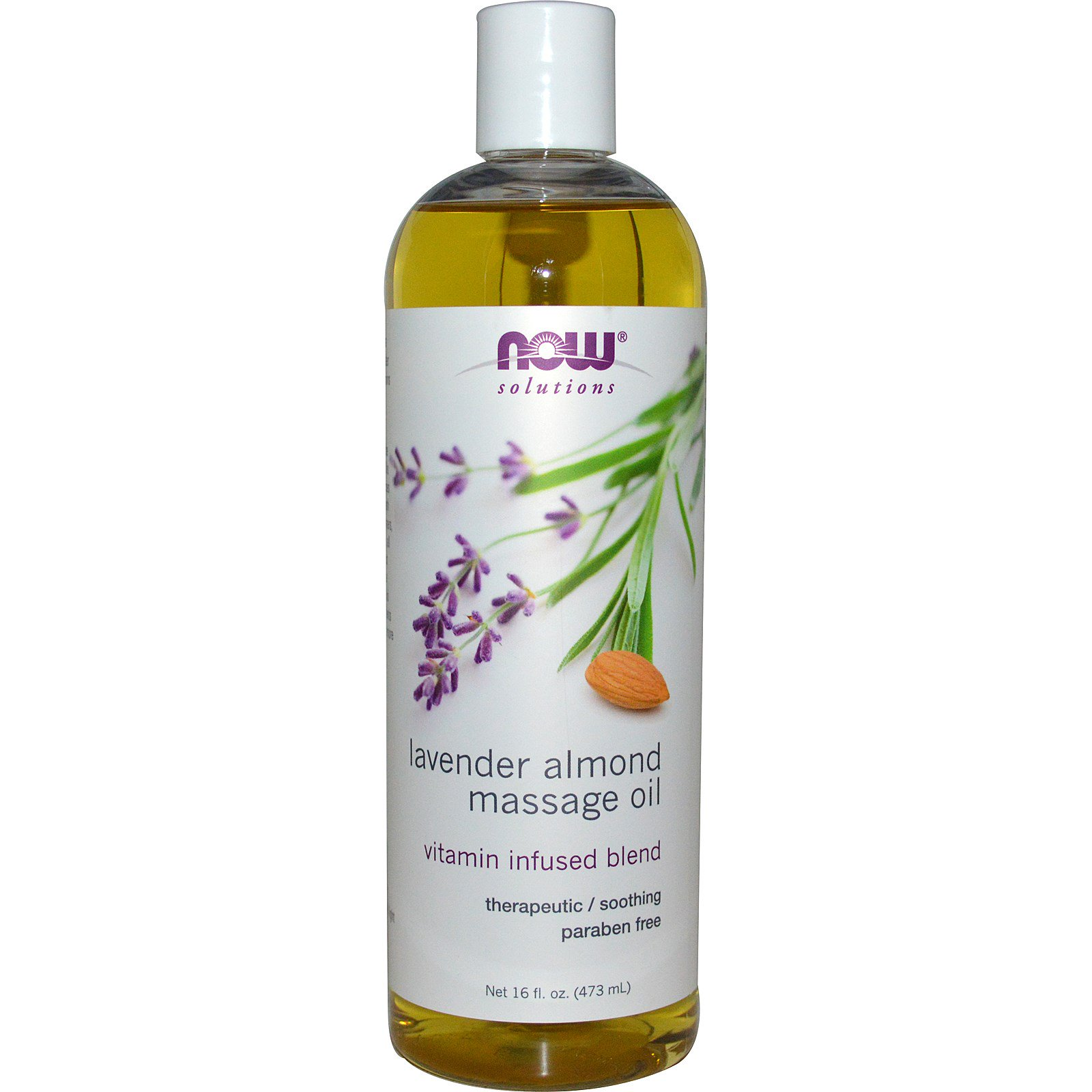 Massageolja Lavendel och mandel 473ml