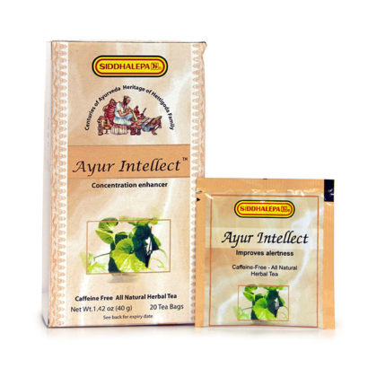 Ayur Intellect tea